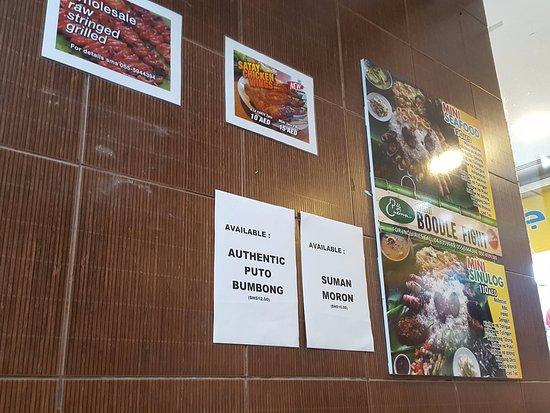 Cucina Cafeteria: Detalle pared :-)