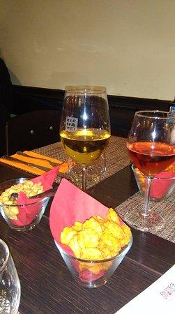 Enoteca Barberini: au choix blanc ou rosé