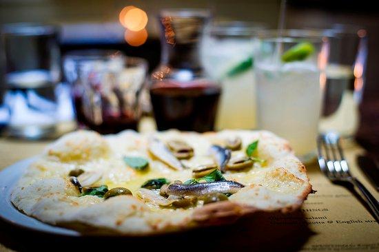 Polpo Bristol: pizzetta