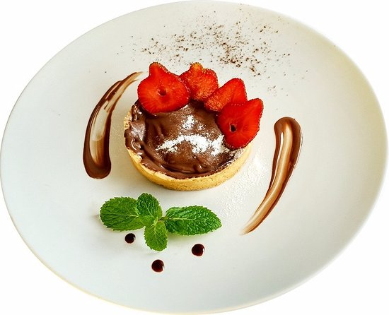 Chez Mamie Bali: Nutella Pie :)
