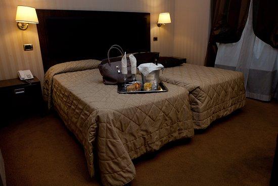 Hotel Villafranca: Double standard