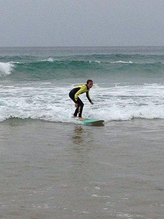 Surfschool TresOndas Ericeira: Kinderleicht