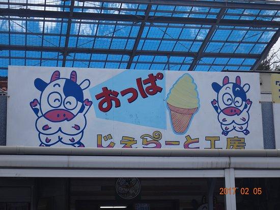 Oppa Nyugyo Gerato Kobo Kyoda Michi-no-Eki: おっぱ乳業 ジェラート工房
