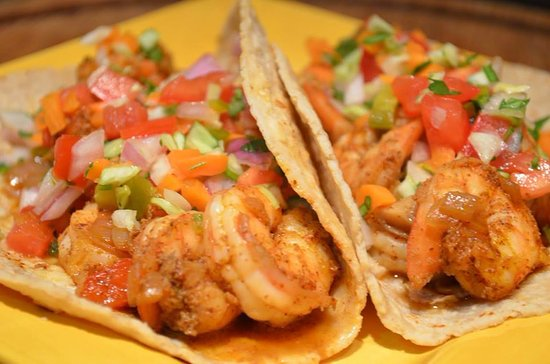 Happy Jacks Restobar: Shrimp Taco