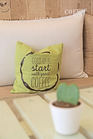 The White Coffee Bar: Good ideas start with great coffee!