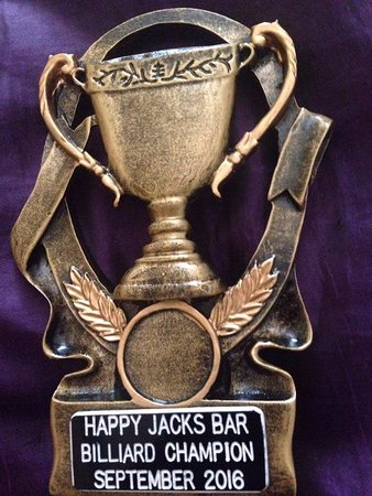 Happy Jacks Restobar: Monthly Billiard Competitions