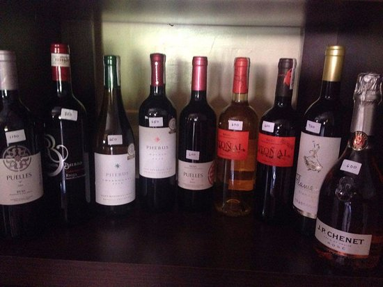 Happy Jacks Restobar: Wine Selections