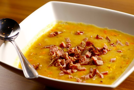 Solomon's Deli: Pea Soup with Smoked Meat