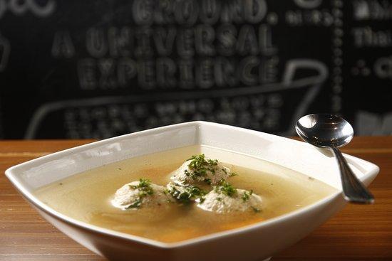 Solomon's Deli: Chicken Soup with Matzo Balls