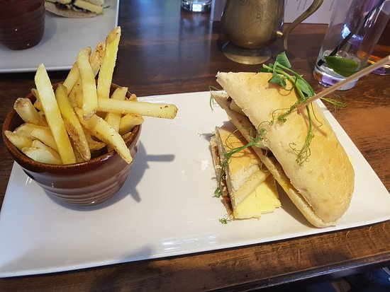 Hesketh Arms: Cheddar & Pickle Sandwich