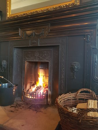 Hesketh Arms: Cosy by the open fire