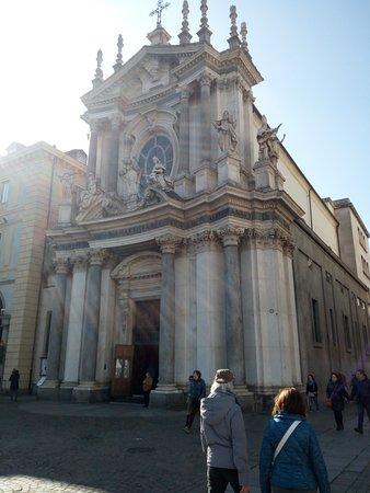 Chiese di San Carlo e Santa Cristina: Chiesa di Santa Cristina