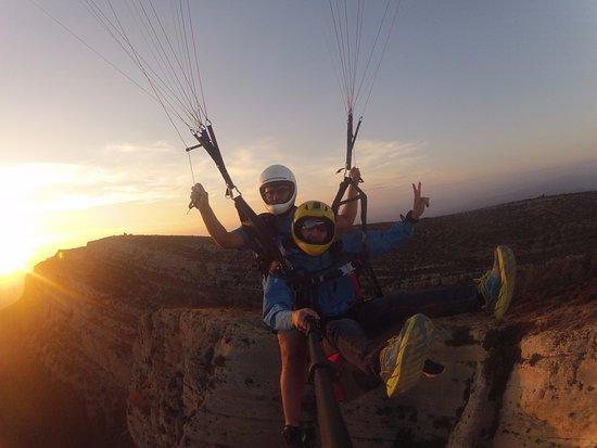 Ager, Spain: Som addictes a l'adrenalina!