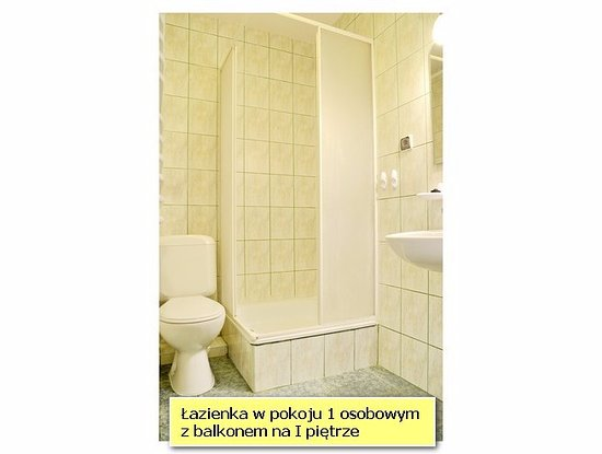 Pokoje GoScinne Przemyk: Łazienka w pokoju.