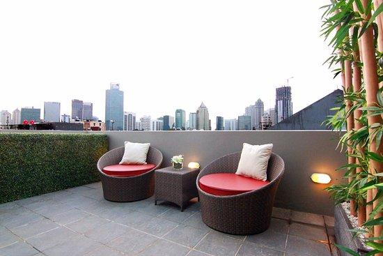 Casa Gradina Inn: Roof Top Garden