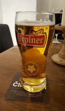 Slovenska Pivnika: Superb restaurant and bar.