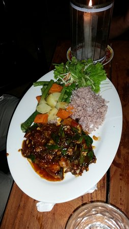One Love: Fish with rice and vegetables
