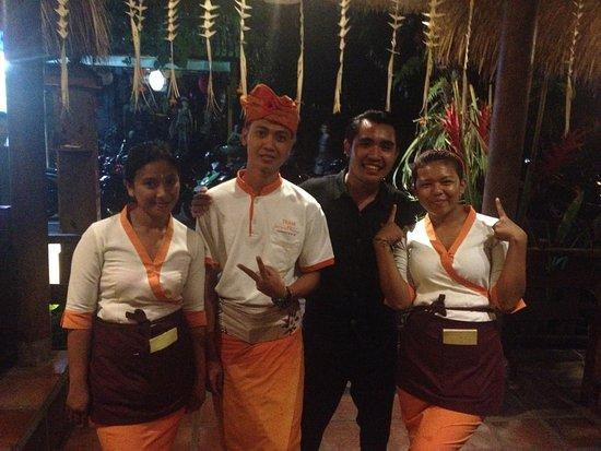 De'warung: Friendly staff