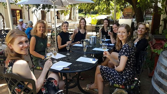 Go Cape Tours: Wine tasting at Simonsig