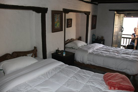 The Old Inn: Two Double beds, ensuite, mountain view! I want to move in!!!