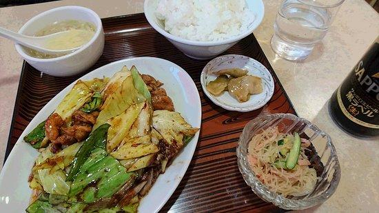 Eikako Main Branch: 回鍋肉定食