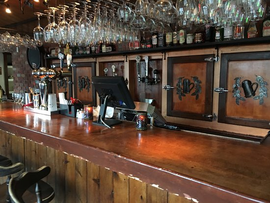 North Hatley, Canada: Pub Bar