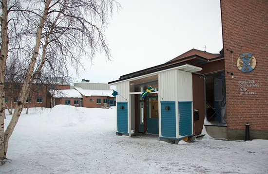 STF Abisko Turiststation: Entrance to main building
