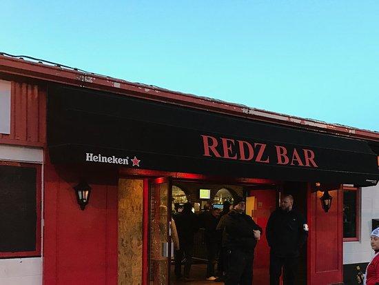 Redz Bar: Entrance To The Bar