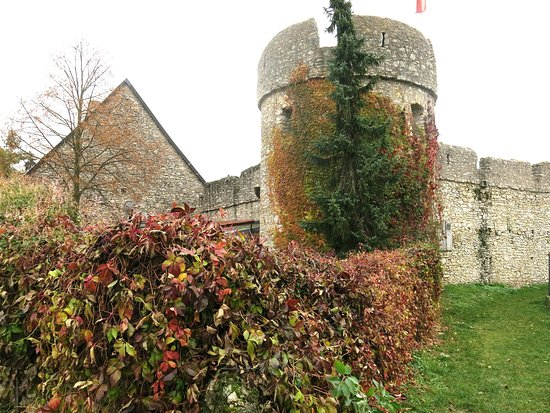 Floersheim-Dalsheim, Germany: Fleckenmauer mit Nordwestturm