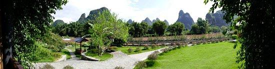 Yangshuo Mountain Retreat: View from room balcony