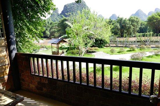 Yangshuo Mountain Retreat: View from balcony