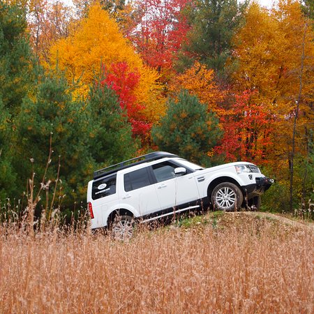 Land-Rover Experience Driving School: Spectacular Foliage