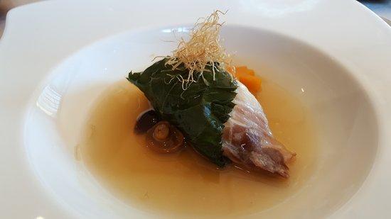 Gen Zen Teppanyaki - Windsor Hotels: 雙主菜之一