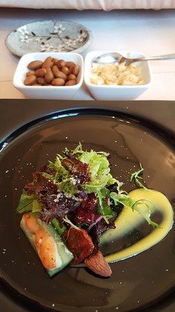 Gen Zen Teppanyaki - Windsor Hotels: 小菜及前菜
