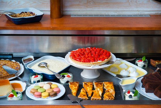 Le Transat: Le Buffet de desserts