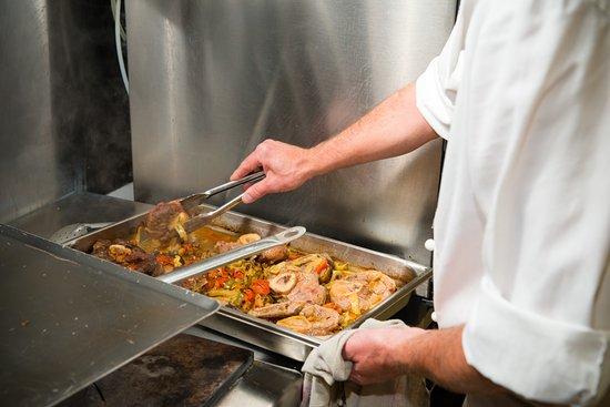 Le Transat: Notre Chef en Cuisine
