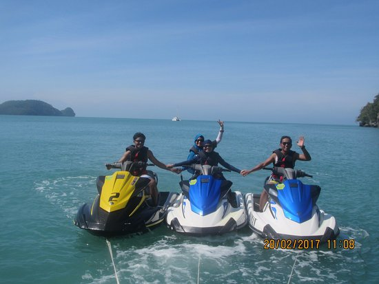 Thanks Seeman Watersports! Such a fun and thrilling adventure :)