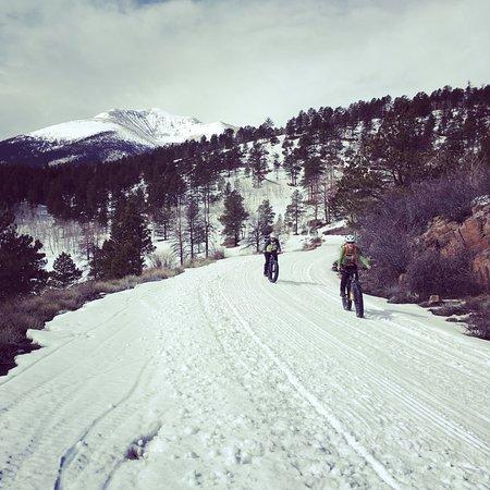 Salida, Colorado: Winter Fat Biking near Marshall Pass