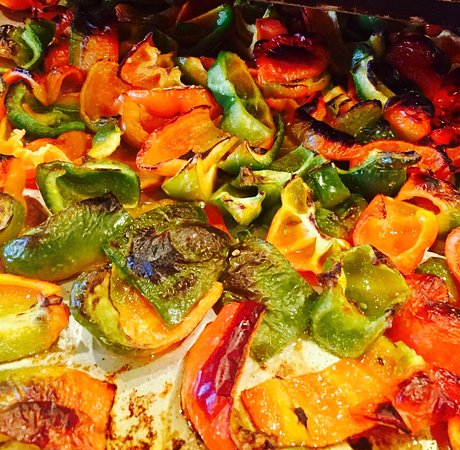 Melville, NY: roasted veggies