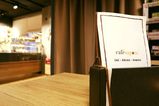 Buchs St. Gallen, Suiza: das Café mit ambiente