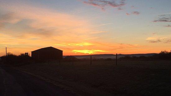 Bruceton Mills, WV: Sunrise walk