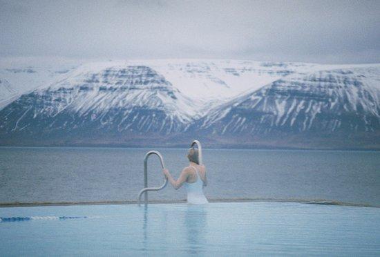 Siglufjordur, Islandia: Our pit stop at Hofsós