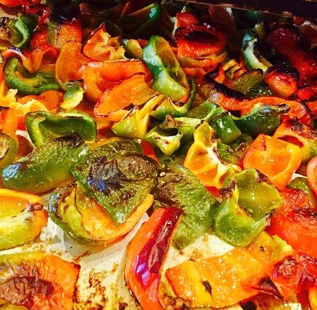 Woodbridge, Нью-Джерси: roasted veggies