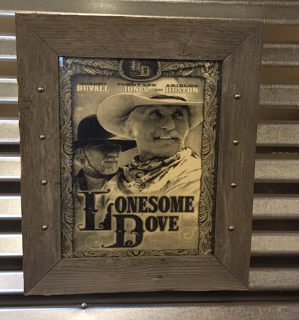 Antlers, OK: Love all the lonesome dove decor