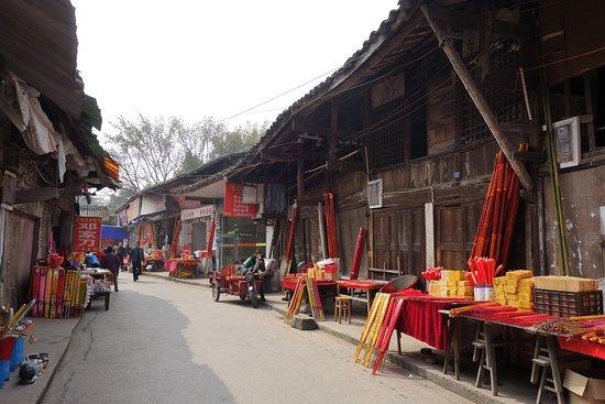 Dazu County, Kina: 老街の中