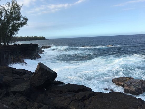 Keaau, Hawái: My first hike in Hawaii and I intend to return before I leave. The trail is an easy 2.6 mile wal