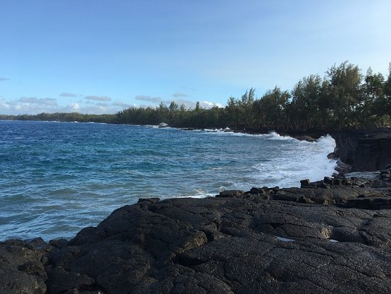 Keaau, HI: My first hike in Hawaii and I intend to return before I leave. The trail is an easy 2.6 mile wal