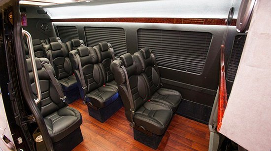 The Sprinter Executive Van Has The Space Of A Private Jet