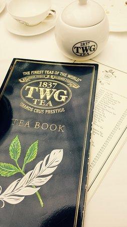 TWG Tea on the Bridge at Marina Bay Sands Photo