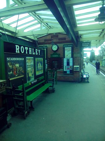Loughborough, UK: Rothley station